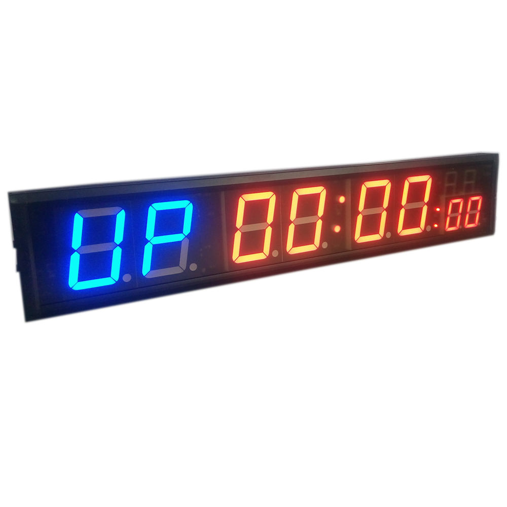 Freight Free 4'' 8digits Led Countdown Clock Workout Timer Garage Home