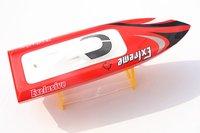 DTRC M390 Millet Pepper Fiberglass Brushless RC Boat / Racing Boat FRP with Motor 2445 KV3100/ 30A ESC/ 17g Servo