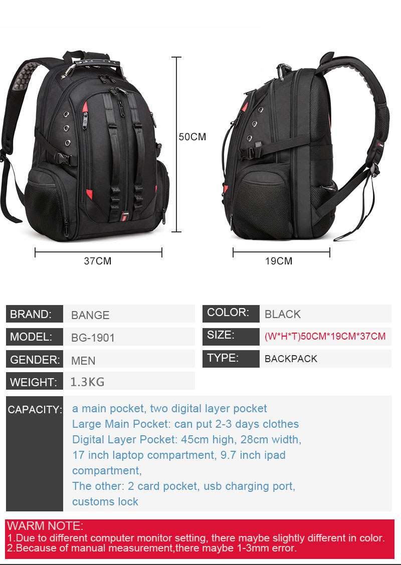 15.6 anti-theft laptop backpack  - durable 45l s strap design 15.6 Anti-Theft Laptop Backpack  – Durable 45L S Strap Design HTB1dGNJbyDxK1Rjy1zcq6yGeXXag