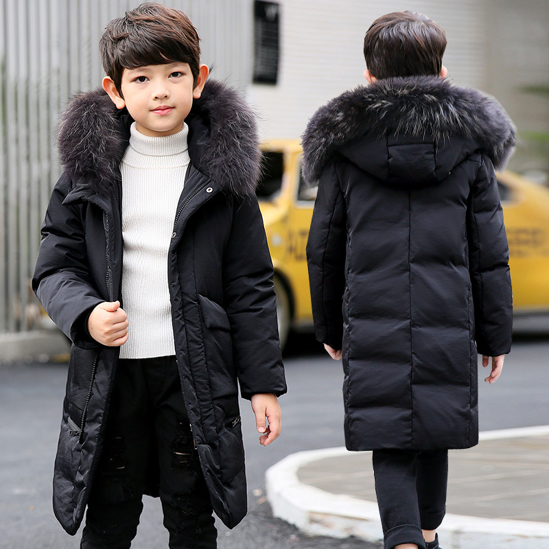 OLEKID 2018 Children Winter Jacket For Boys 5-14 Years Kids Boys Outerwear Coat Winterjas Jongen Doudoune Garcon Kurtka Zimowa olekid 2018 children boys winter down jacket 3 12 years kid outerwear coat for girl manteau enfant garcon hiver winterjas jongen