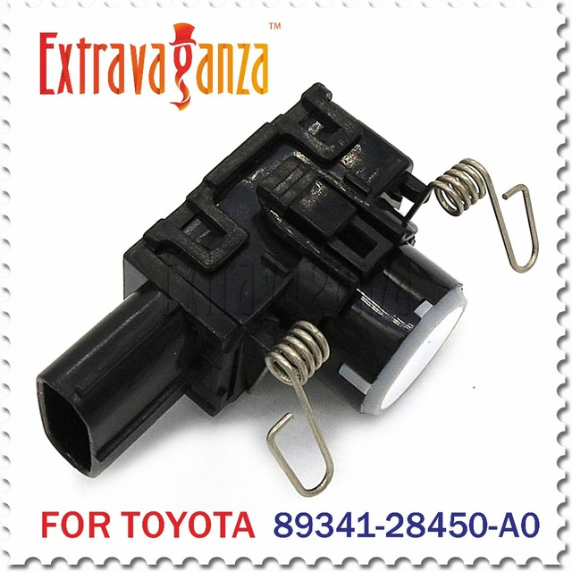 2pcs 89341-28450 Ultrasonic Sensor Park Sensor FOR Toyota Lexus LX570 Land Cruiser Previa 89341-28450-A0
