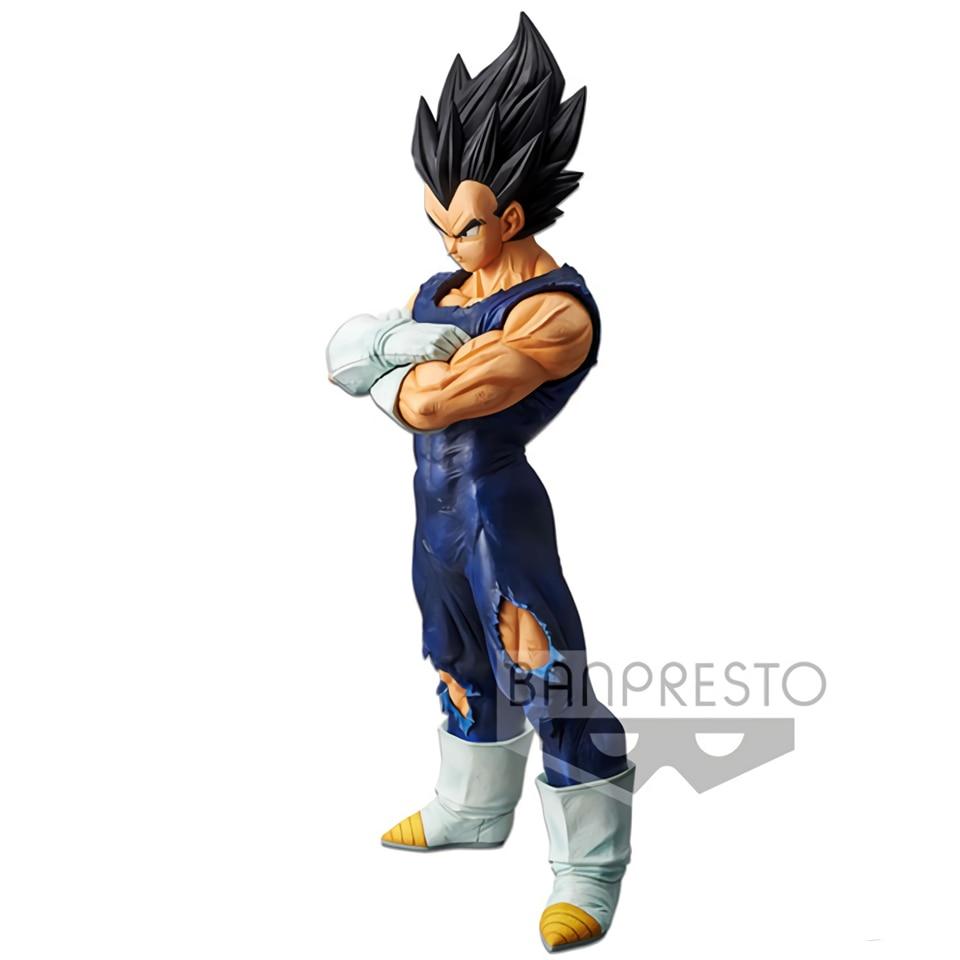 Image 4 - Tronzo Original Banpresto Dragon Ball Super Grandista ROS Vegeta Goku Black Hair PVC Action Figure Model GROS DBZ SSJ Toys GiftsAction & Toy Figures   -