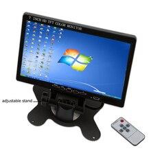 Podofo 7″ HD LCD Mini Computer & TV Display CCTV Security Surveillance Screen hdmi lcd monitors with HDMI / VGA / Video / Audio