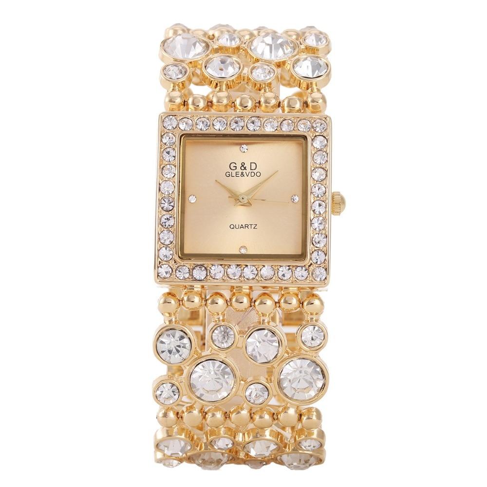 Жіночі годинники 2017 Мода G & D Бренд - Жіночі годинники