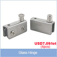 glass hinge