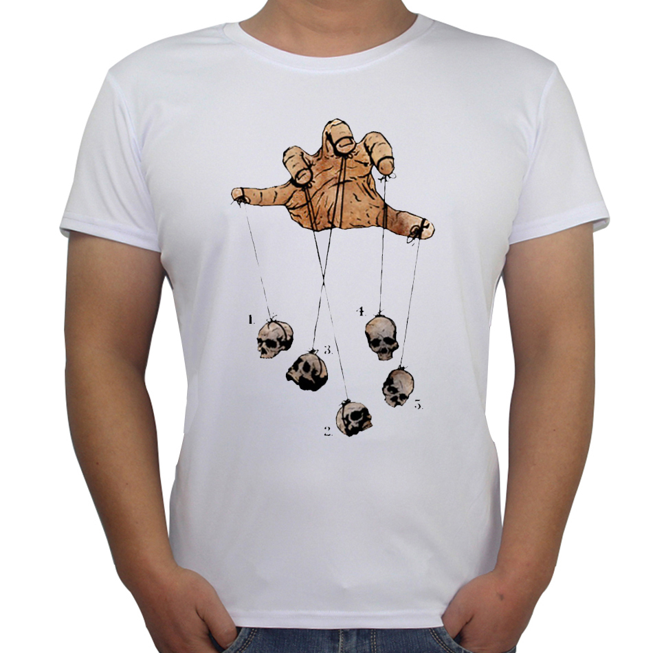 Design t shirts and sell online - Hot Sale Funny Design T Shirts Five Dancing Skull Creative Printed Men S T Shit Zombie