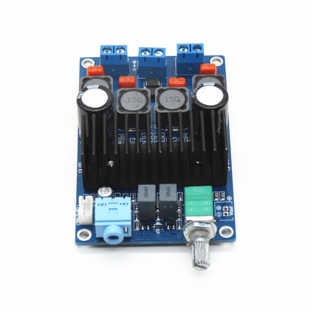 New Pattern Tpa3116 2 Channel Digital Small Power Amplifier Board 12 Circuit Stereo Audio 2channel Subwoofer 24v Diy Switch Potentiometer In From Consumer Electronics