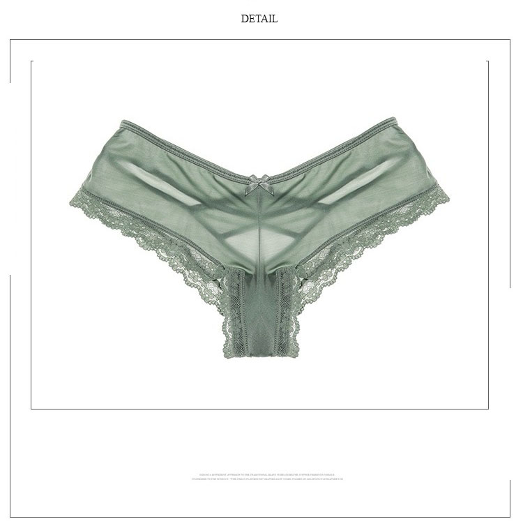 TERMEZY Sexy Panties Women Lace Low-waist Solid Sexy Briefs Female Underwear Ladies Cross Strap Lace Lingerie G String panties (5)
