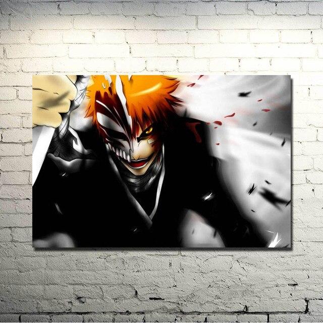 Bleach Kurosaki Ichigo Hollow Mask Silk Poster Print 13x20 24x36 inches 007