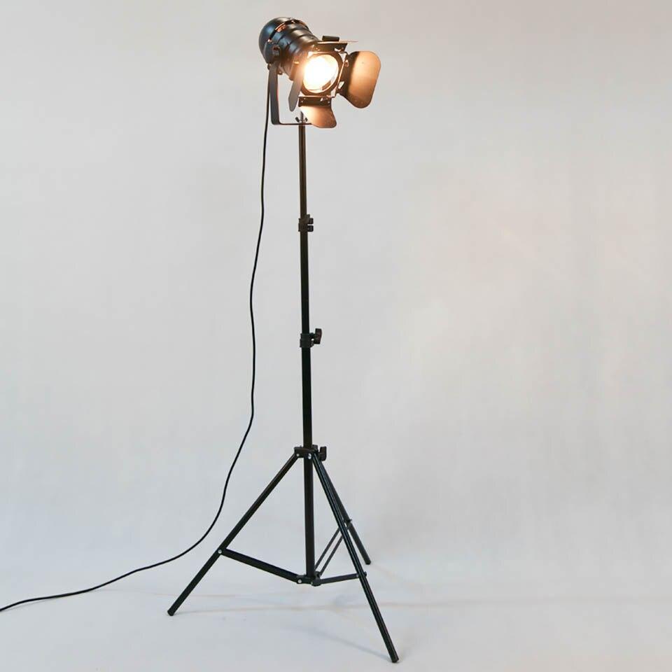 Rūpnieciskais bārs Creative Studio Retro statīvs melns grīdas - Iekštelpu apgaismojums - Foto 2