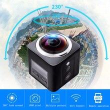 IDV Wi-fi Mini Câmera Panorâmica de 360 Graus 4 K Ultra HD À Prova D' Água Esporte de Condução VR Controlar Remotamente Monitoramento Sem Fio Da Câmera