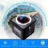Idv 360 градусов 4 К Wi Fi мини панорамная Камера Ultra HD Водонепроницаемый Sport Driving VR Камера Беспроводной удаленно Управление мониторинга