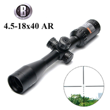BU 4.5-18×40 AR/223 Tactical Rifle Scope Outdoor Reticle Optic Sight Cross Riflescope Long Distance Hunting Scopes