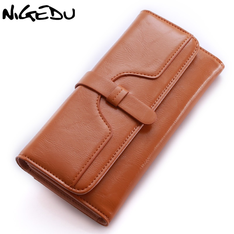 Vintage Women Long Wallet Phone Lady Purse Money Bag PU leather Ladies clutch Purses Famous Brand Designer Wallets carteira fashion women coin purse lady vintage flower small wallet girl ladies handbag mini clutch women s purse female pouch money bag