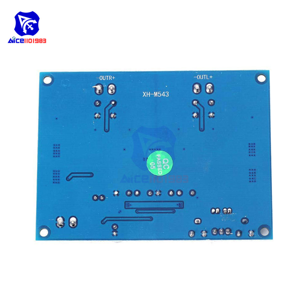 Image 2 - TPA3116D2 TPA3116 Dual Channel Stereo High Power Digital Audio Power Amplifier Board 120W+120W Amplificador Module XH M543-in Integrated Circuits from Electronic Components & Supplies