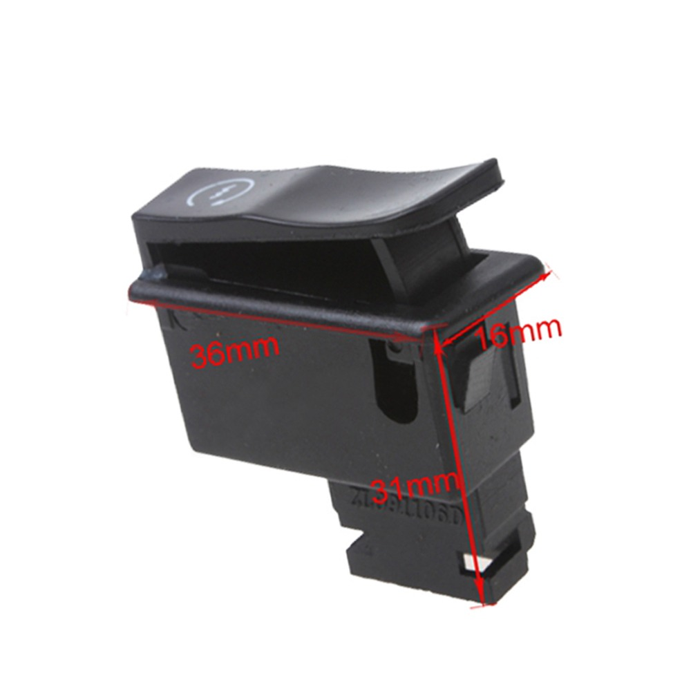 GOOFIT Motorcycle Electric Starter Button for 50cc-250cc Scooter I060-038