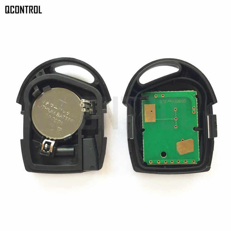 طقم مفتاح تحكم عن بعد للسيارة من QCONTROL لسيارة فورد فيوجن فوكس مونديو فييستا Galaxy FO21 Blade 3 أزرار 433 ميجاهرتز