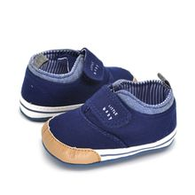 New Baby Boys First Walkers Cotton Ankle Canvas High Crib Shoes Kid Sneaker Boots