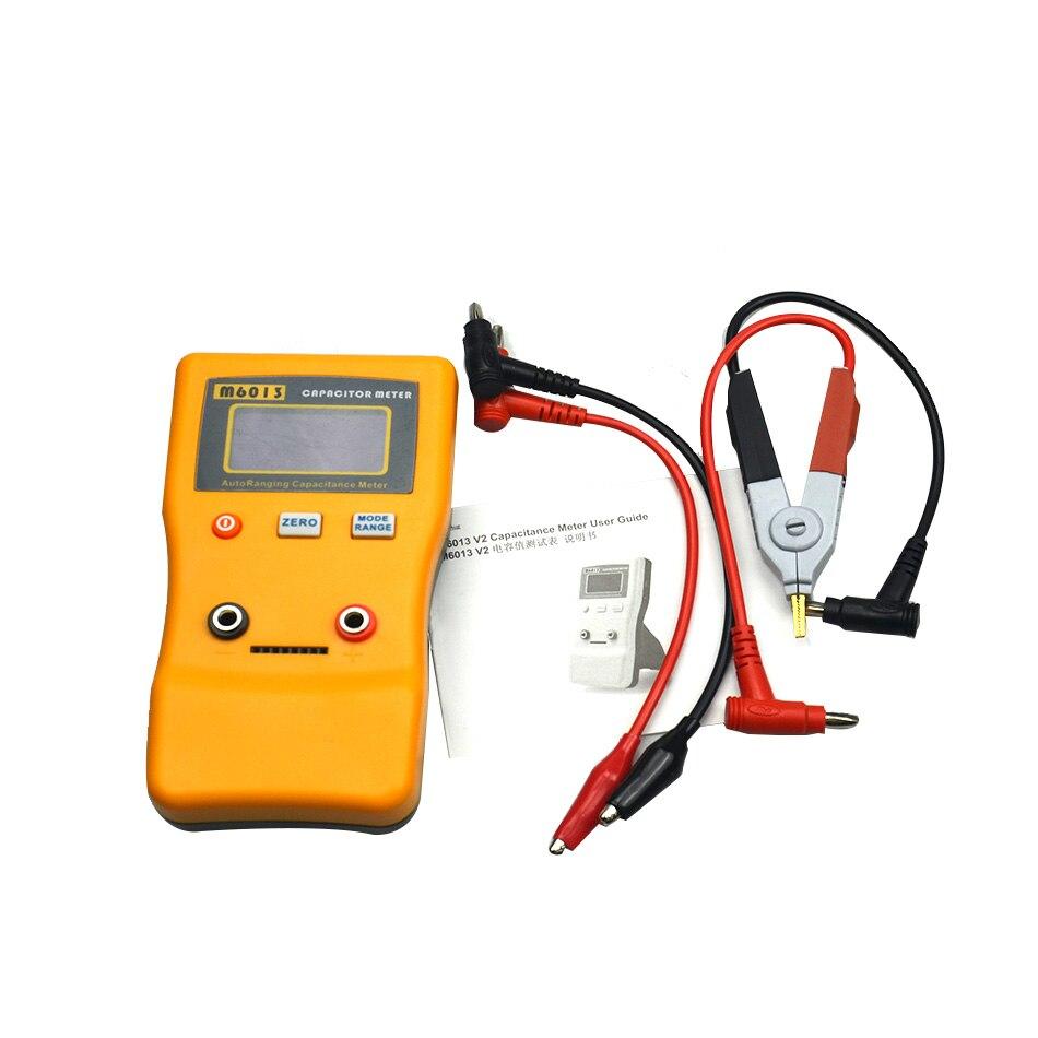 Haute qualité LCD haute précision condensateur mètre professionnel mesure capacité haute résolution résistance testeur 0.01-470mF