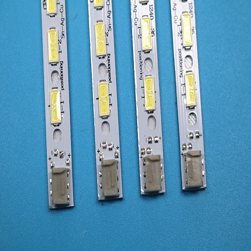 100%New Kit 10PCS/set 68LED 676mm LED Backlight Strip GK0361 7030PKG 68EA R L TYRE REV0.2 For LCD-60LX640A
