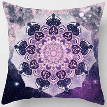 Creative design many shapes different  patterns men women square pillow case round flowers pattern