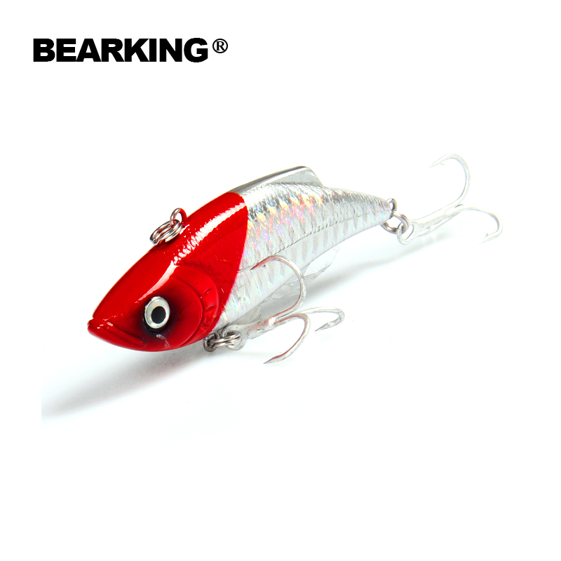 Retial quality bait A+ fishing lures,74mm 13g Bearking different color crank minnow popper hard bait 2017 hot model retail bearking 2016 hot model fishing lures hard bait 8color for choose 110mm 13g minnow quality professional minnow
