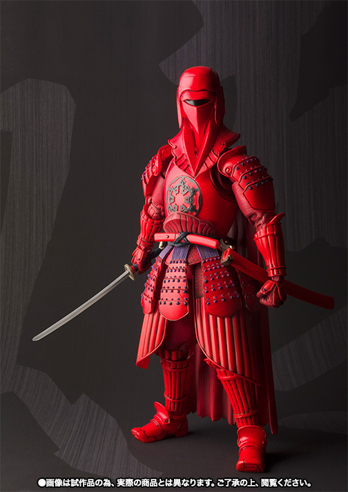 J.Ghee Star Wars MOVIE REALIZATION Red Royal Guard PVC Action Figures Collectible Model Toy 18cm Christmas Gifts star wars red royal guard 1 8 scale painted variant red royal guard doll pvc action figure collectible model toy 17cm kt3255