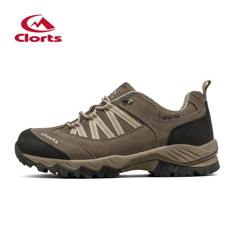 2016 Clorts Men Hiking Shoes Uneebtex Waterproof Outdoor Shoes Rubber Non-slip Trekking Sports Sneakers HKL-831 clorts men trekking shoes 2016 waterproof breathable outdoor shoes non slip hiking boots sport sneakers 3d028