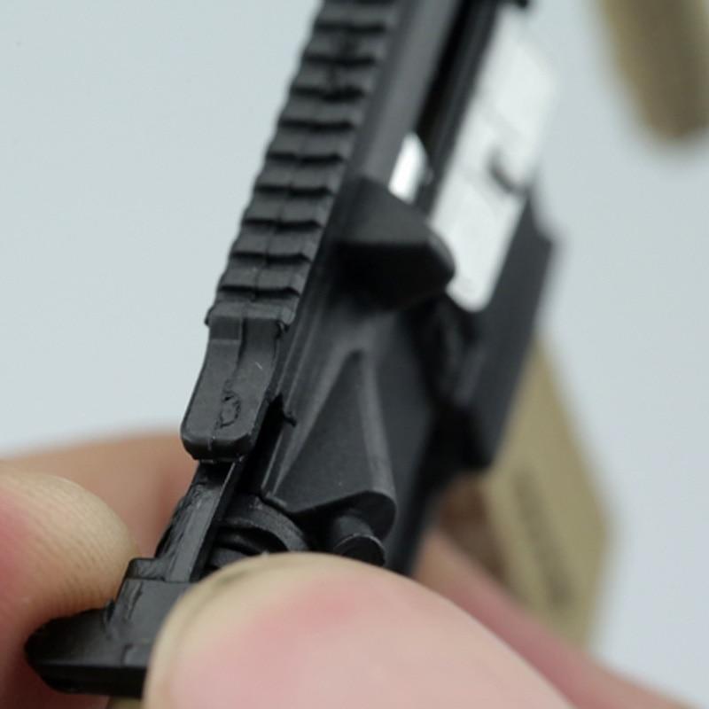 1:6 Soldier Weapon HK416 4D Firearms Assembled Gun Model Sand Fit 12/'/' Figure