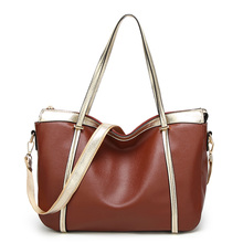 2017 New Fashion Woman Shoulder Bags Famous Brand Luxury Handbags Women Bags Designer Soft PU Leather Totes Women Mujer Bolsas