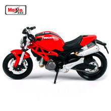 MAISTO 1:18 Ducati Monster 696 MOTORCYCLE BIKE DIECAST MODEL TOY NEW IN BOX Free Shipping 08056(China)
