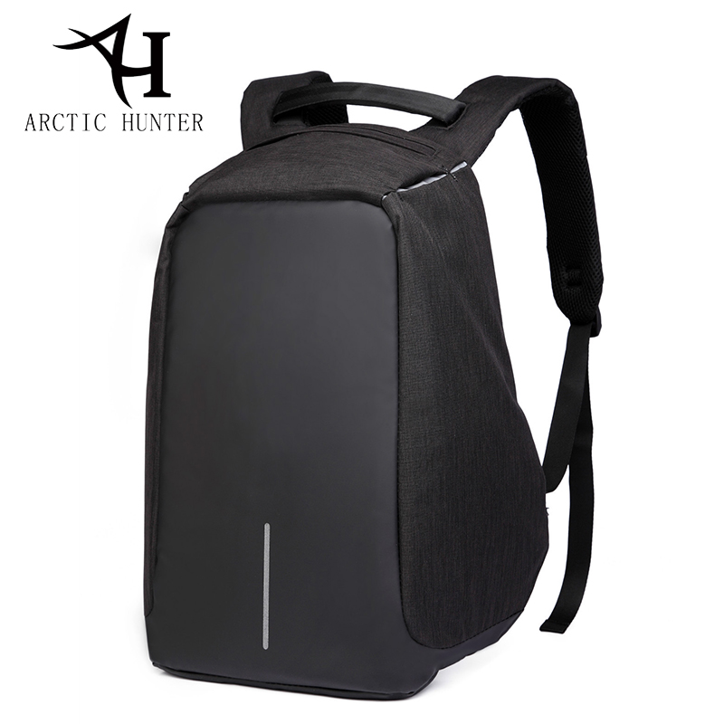 ARCTIC HUNTER Women backpack Rain cover female USB charge anti theft backpack men computer Laptop backpack back to school bags