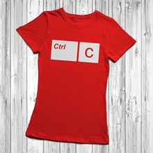 Ctrl C V Copy And Paste T Shirt Son Child Dad Mum Daughter Mens Womens Kids New Shirts Funny Tops Tee Unisex