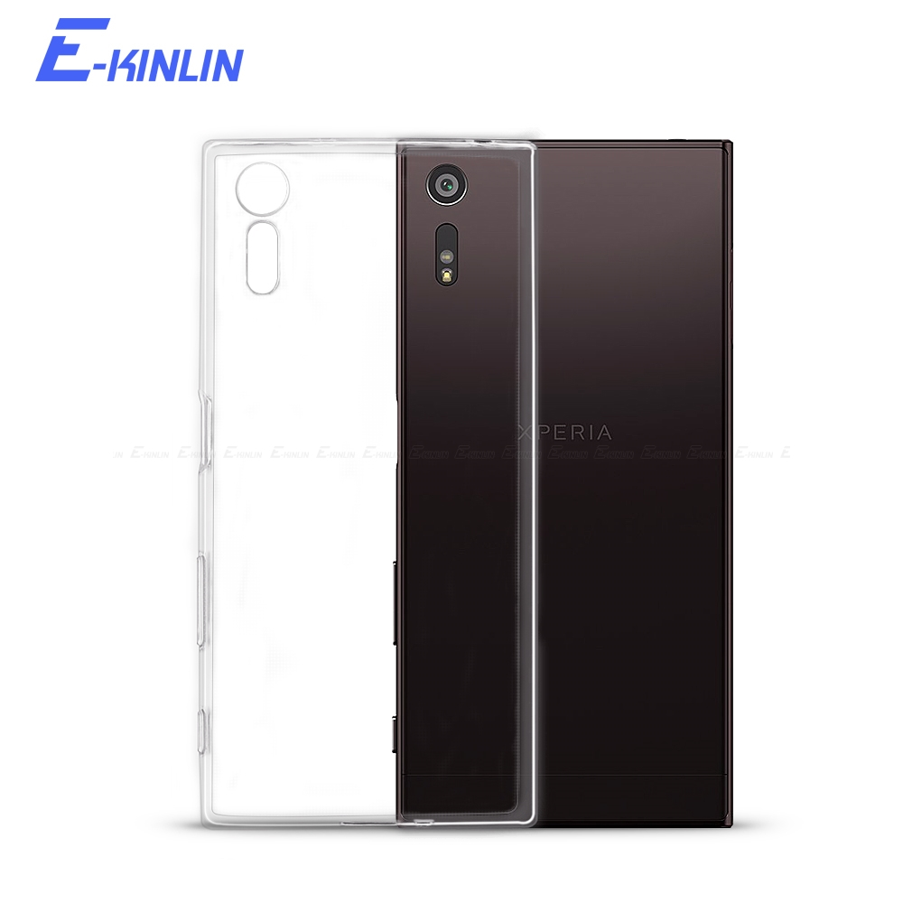 Thin Soft TPU Cover <font><b>Case</b></font> For <font><b>Sony</b></font> <font><b>Xperia</b></font> 1 5 <font><b>10</b></font> Z2 Z3 Z4 Z5 X XZ3 XZ1 XZ2 Compact L1 L2 L3 XZS XA XA1 XA2 Plus Ultra XZ Premium image