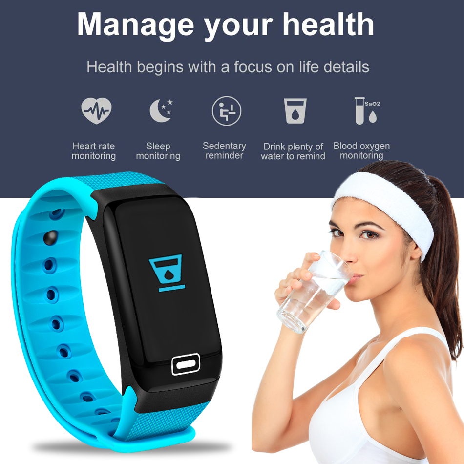 WISHDOIT Smart Sport Watch New Waterproof Watch Blood Pressure Heart Rate Detection Pedometer for ios Android Fitness Watch +Box 14