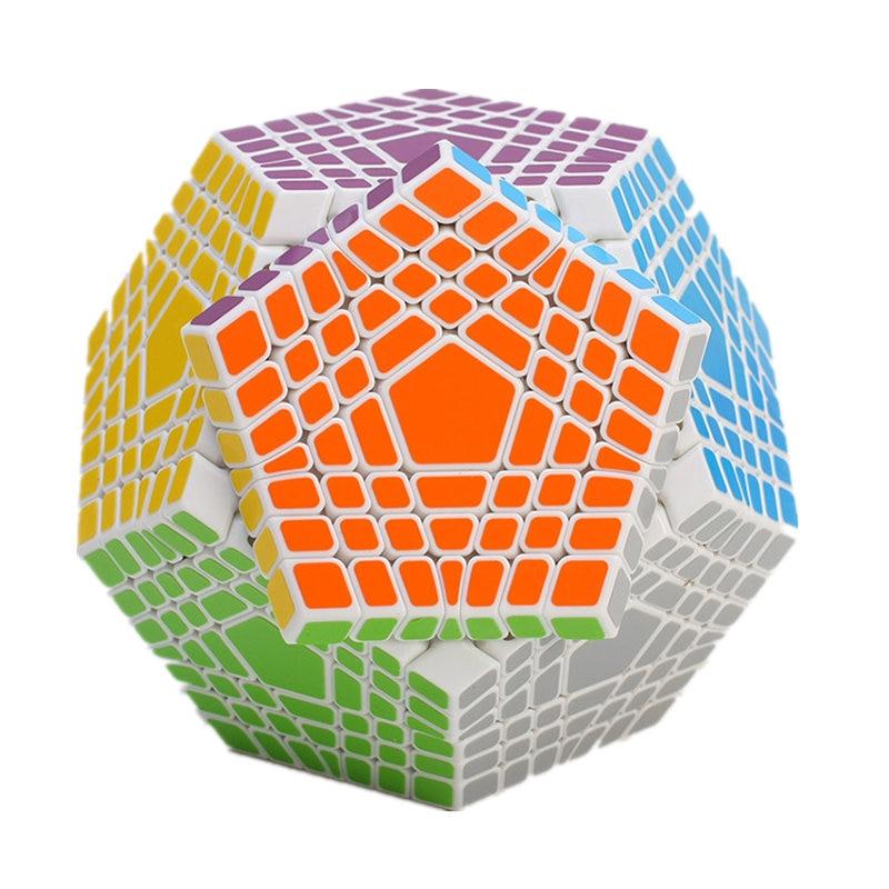 7x7 Megaminx 7x7x7 Magic Cube Teraminx 7x7 профессиональный куб додекаэдра Twist Puzzle образовательные игрушки - 3