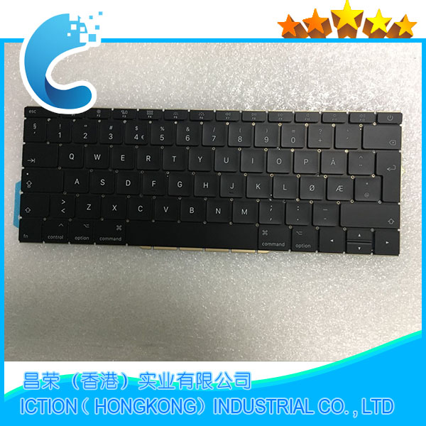 купить Original New A1708 Keyboard Norwegian Norway for Apple Macbook 13.3