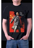 VLADIMIR LENIN RUSSIAN COMMUNIST REVOLUTION Black T Shirt INK S M L XL XXL XXXL Comfortable t shirt,Casual Short Sleeve TEE