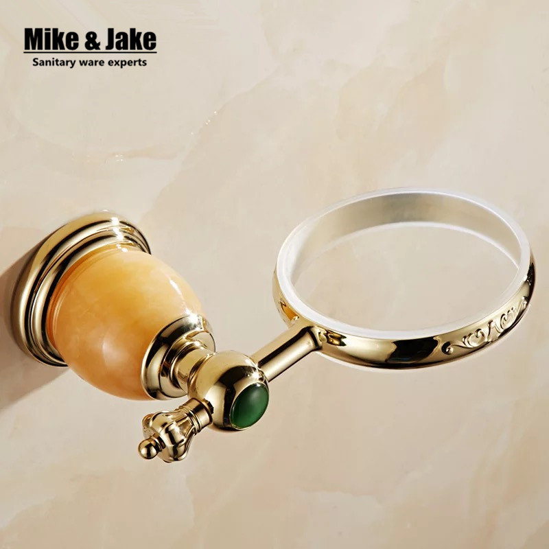 Luxus Golden green stein wc bürstenhalter mit Keramik tasse ... | {Badaccessoires stein 95}