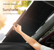 Universal Car Retractable Front Windshield Sunshad FOR SUV and Truck Rear Sun Visor UV Protection Curtain
