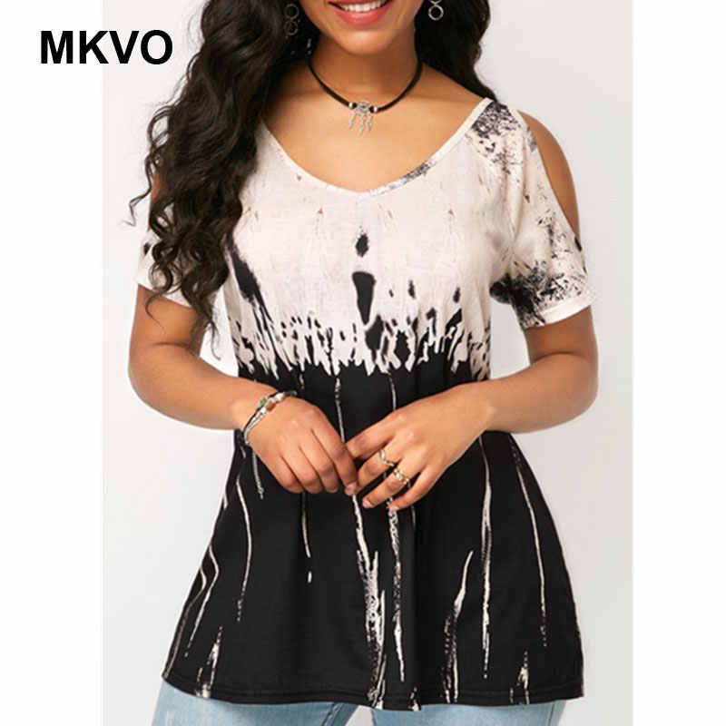 Của phụ nữ Thời Trang In Cộng Với Kích Thước Ngắn Tay Áo Giản Dị Hàng Đầu phụ nữ Mùa Hè O-Cổ Sexy Tắt Shoulder T-Shirt camisetas verano mujer