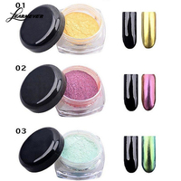 12Colors Set Shinning Mirror Nail Glitter Powder Nail Art Sequins Pigment Glitters Nail Art Decorations M02572