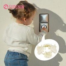 10 stücke EU Steckdose Steckdose Baby Kinder Kind Sicherheit Schutz Schutz Anti Elektrische Schock Stecker Protector Drehen Abdeckung