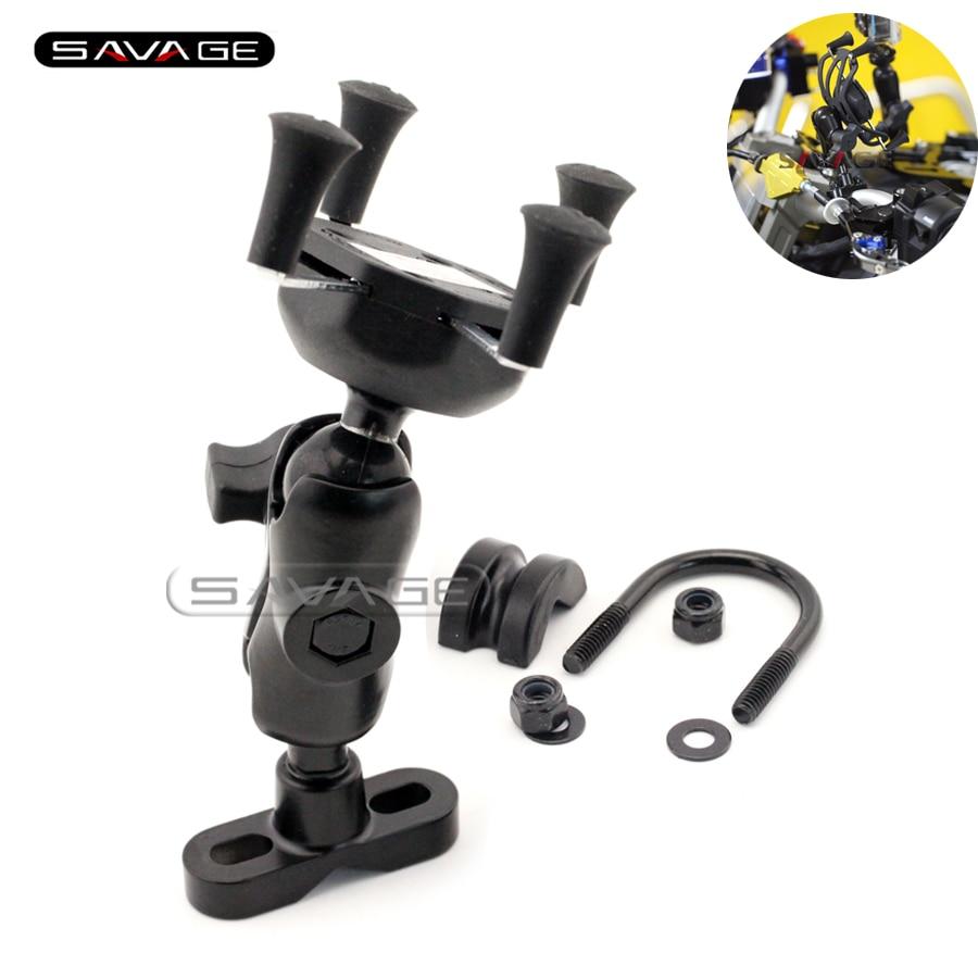 Для Сузуки ГСР 400/600/750 системы GSX-с 750/1000/1000F мотоцикл GPS навигации мобильный телефон держателя кронштейна