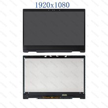 цена на LCD Display Touch Screen Glass Panel Assembly+Control Board +Bezel For HP x360 13-ag0502sa 13-ag0503na 13-ag0999nf