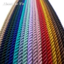 О Fit Milan TA 4,0 мм 100 м плетеные бисерные шнуры нитки для рукоделия веревки тканые кружевные ювелирные изделия браслет ожерелье