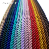 About the Fit Milan TA 4.0mm 100M Braided Beading Cords Handcraft Thread Strap Ropes Woven Lace Jewelry Bracelet Necklace Making