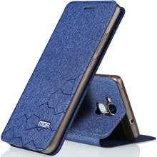 Huawei Honor 7 lite case flip leather cover mofi soft back silicone coque for huawei honor7 lite metal funda original case