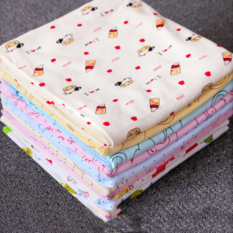 Newborns Baby wrapped towel cotton thin summer newborn children wrapped cloth blanket baby towel Spring Autumn Bed sheet