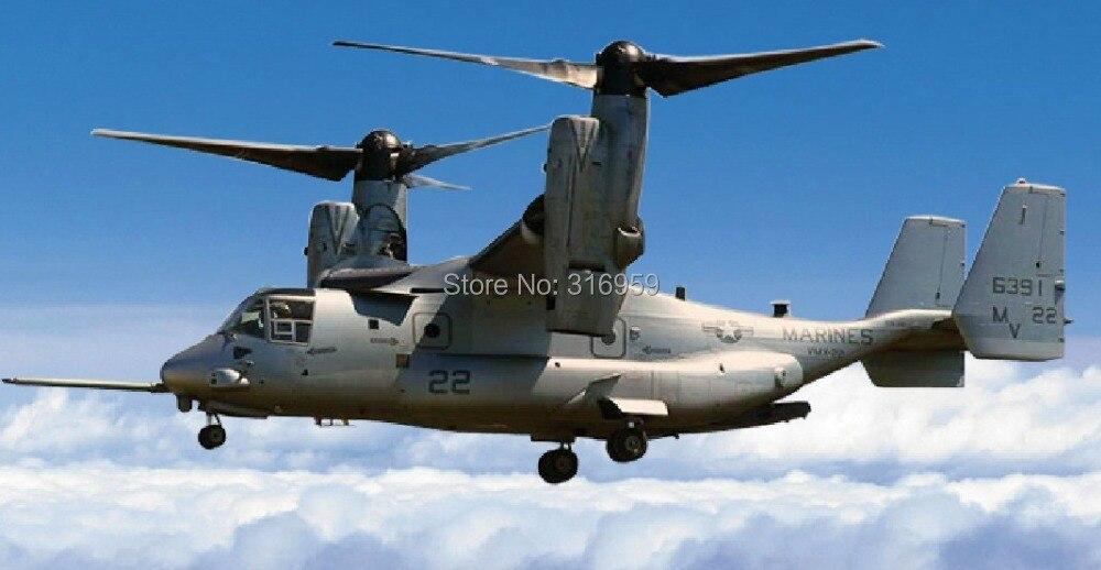 RC avión U. s airforce Osprey V22 helicóptero 2.4g Control remoto aviones W/Gyro León RTF electrónico niños hobby juguete